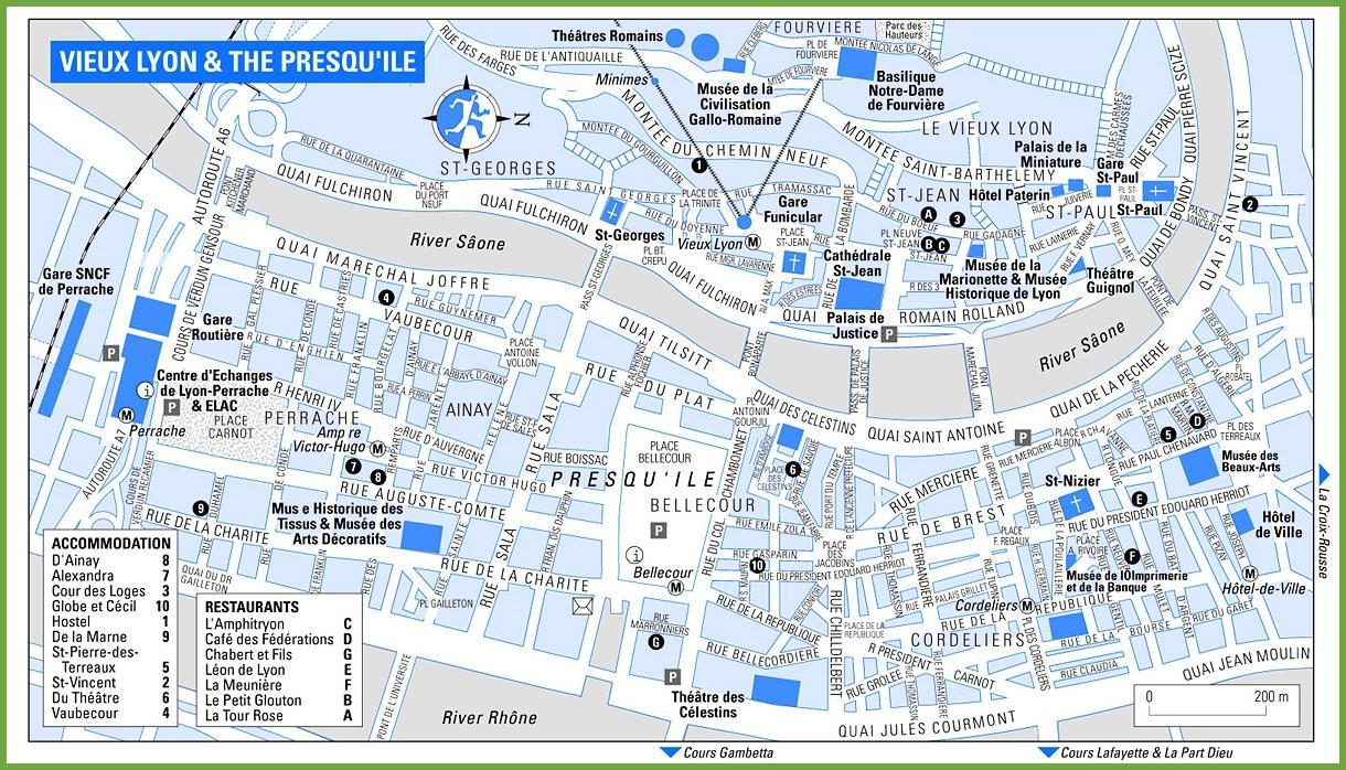 Genes Plan De La Ville